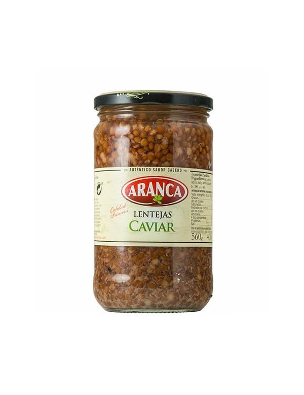 Lentejas Caviar